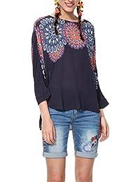 es Blusas Ropa Y Amazon Desigual Camisas Tops Camisetas Blusas 4awCdq