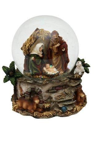 ugel, Heilige Familie, Maße H/B/Ø Kugel: ca. 9 x 8,5 cm/Ø 6,5 cm. ()
