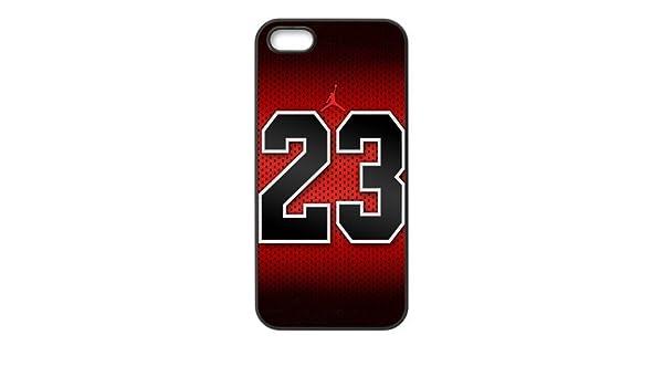 1bd52b822706 NBA Chicago Bulls Michael Jordan 23 Logo Cool Unique Apple Iphone 5 5S  Durable Hard Plastic Case Cover DIYMall  Amazon.co.uk  Electronics