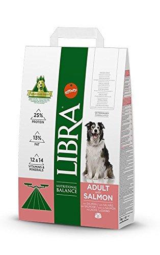 LIBRA - Pienso para Perros Adultos pequeños, medianos y Grandes salmón