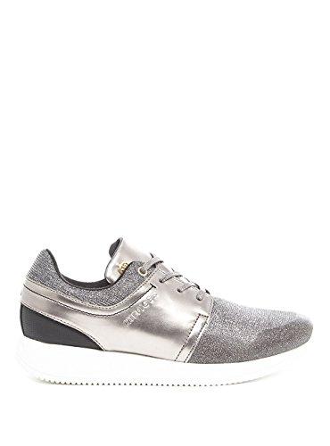 Donne & # 039; s scarpe sportive, colore grigio, marca TOMMY HILFIGER, modello Donna & # 039; s scarpe sportive Tommy Hilfiger Samantha 2C1Grigio Black 44
