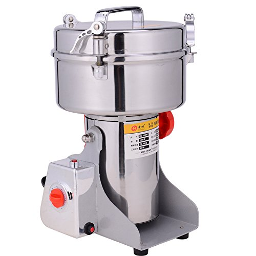 41SINDP5kOL. SS500  - ParaCity Electric Grain Mill Swing Type Large-scale 2000g Stainless Steel Grain Grinder Cereal Mill Flour Powder Machine Herb Pulverizer Superfine Powder Machine 220V