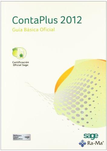 ContaPlus 2012. Guía básica Oficial por Sage Formación