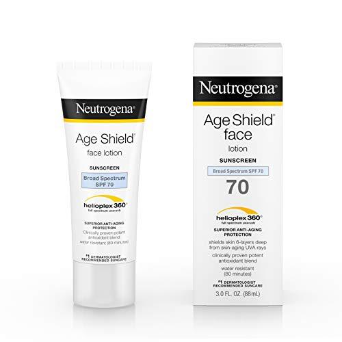 Sunblock Spf 100 (Neutrogena Age Shield Face Lotion LSF 70 - Anti Aging Sonnenschutz fürs Gesicht - aus USA)