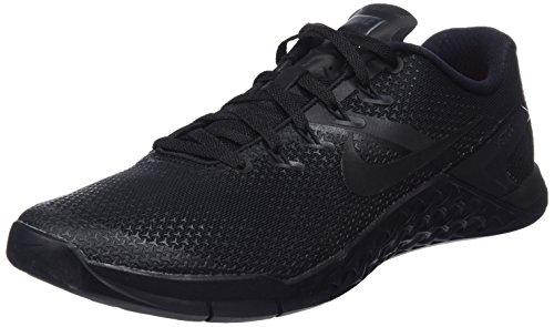 Nike Metcon 4, Zapatillas de Cross para Hombre, Negro (Black-Hyper Crimson 001), 45.5 EU