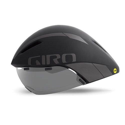 Giro Erwachsene Aerohead Mips Fahrradhelm, Black/Titanium, M