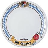 Seltmann Weiden 001.448954 Frühstücksteller 20 cm Fahne Compact Bayern-Serie