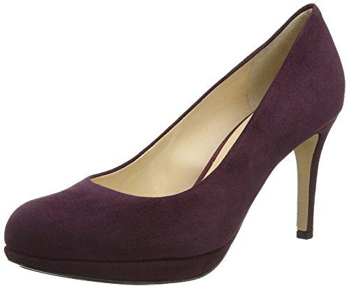 HÖGL 2107702, Scarpe con tacco Donna, Nero (0100 Black), 35 Viola (Purple (4500 Purple))