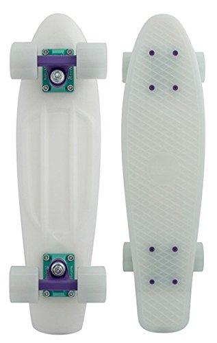 "Cruiser Complete Penny Skateboards Glow 22\"" Galactic Glow Purple Glow Complete"