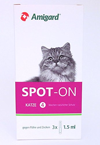 Amigard Spot-on Katze 3 x 1,5 ml