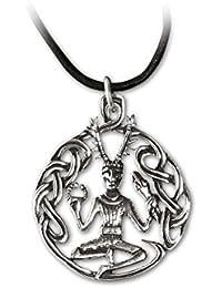 etNox-Anhänger ''Cernunnos'' klein, 925 Silber (K301S)