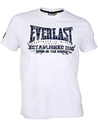 Everlast Heritage T–Born in the Bronx Camiseta, color Weiß, tamaño M