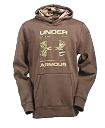 Under Armour Mens Rival Camo Fill Logo Hoodie (Medium)