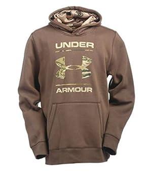 Under Armour Mens Rival Camo Fill Logo Hoodie (Medium) 0