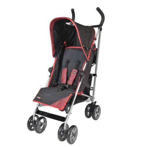 Kiddu Cruz 5-position Lie Back Buggy (Black, 6 - 36 Months)
