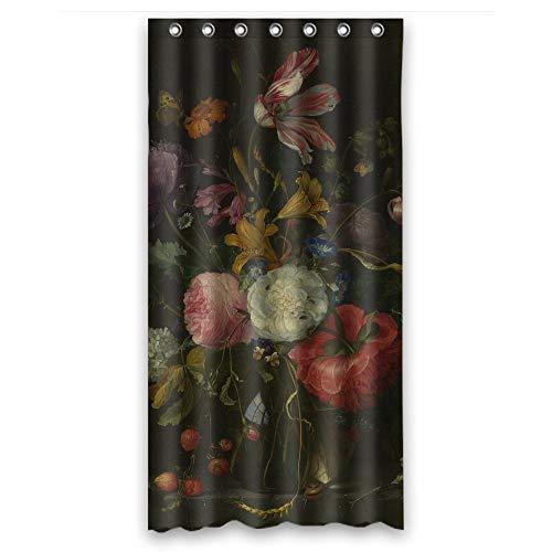 artsplaza Breite x Höhe/91,4x 182,9cm/W H 90von 180cm Polyester berühmten Classic Art Gemälde Blumen Blüten Dusche Vorhänge Stoff ist Passform für GF Artwork Paare Verwandte Vater.