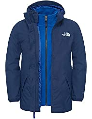 The North Face B Eleden Rain Triclimate - Chaqueta Niño , color azul, talla L
