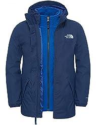 The North Face B Eleden Rain Triclimate - Chaqueta Niño, color azul, talla XL