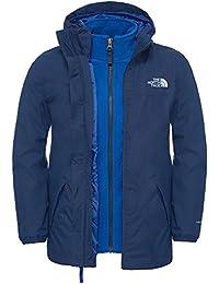 North Face Elden Rain Veste Imperméable Garçon, Cosmic Blue, FR : S (Taille Fabricant : S)