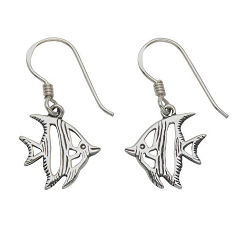 Ohrringe, Sterling-Silber 925, Design: Angelfisch