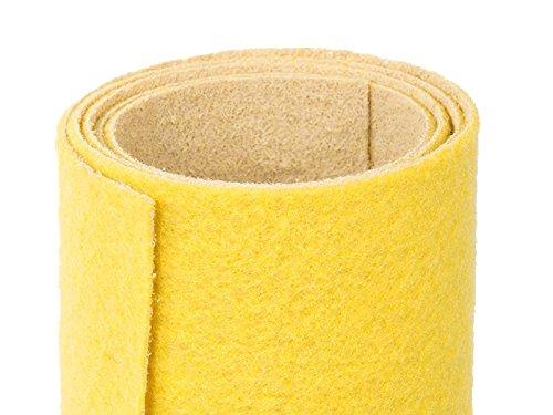 Gelber Teppich - Hochzeitsteppich - VIP Teppich - Eventtepich - Farbe Gelb - 1,00m x 3,00m