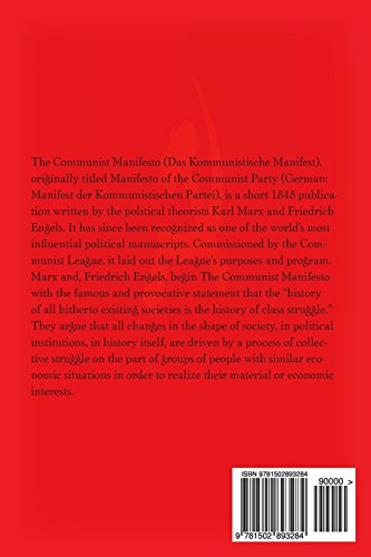 Manifesto of the Comunist Party