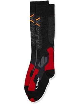 X-Socks Calcetines de función de esquí Varios Colores Anthracite/Red Talla:42/44