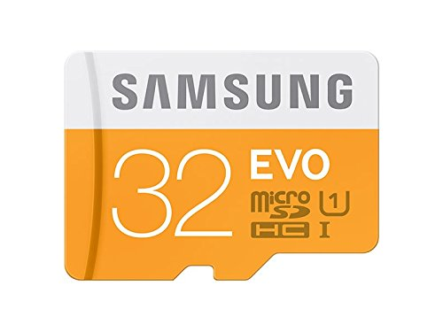 Samsung Memory 32GB Evo MicroSDHC UHS-I Grade 1 Class 10 Memory Card with SD Adapter