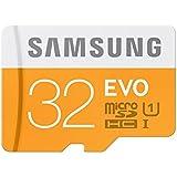 Samsung Carte Mémoire EVO Micro SD Classe 10 32 Go Avec Adaptateur SD (Emballage standard)