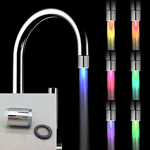 Upolymall 7 Color Glowing LED Tap LED Water Filter