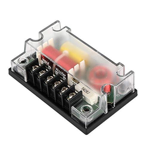 2 vías Car Audio Frecuencia Divisor Altavoz Filtro de Sonido Auto Accesorios