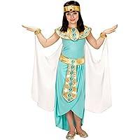 Widmann 49436–Disfraz para niños egipcio Reina, vestido, cinturón, pulseras, cinta y capa
