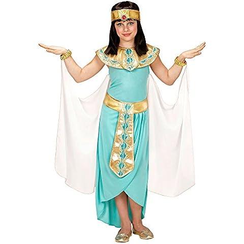 Disfraz de reina egipcia azul para niña - 8-10 años