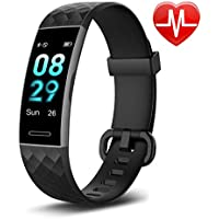 Letsfit Fitness Trackers with Heart Rate Monitor Waterproof, Calorie Counter Pedometer Activity Tracker Watch Step Counter Sleep Monitor, Color Screen IP68 Waterproof for Kids Women Men
