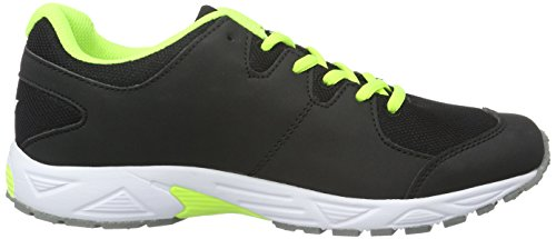 Lico Unisex-Kinder Flurry Low-Top Schwarz (SCHWARZ/LEMON/GRAU)