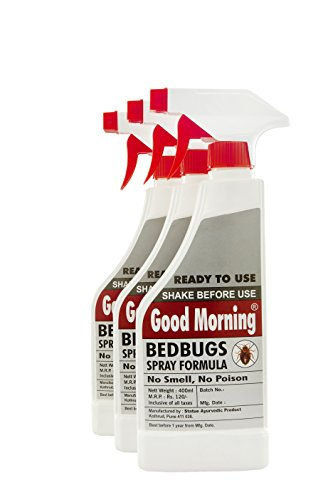 Good Morning Bed Bug Killer Spray (Pack of 3) -...