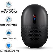 Electronic ratón repelente al–ultrasónico ratón Control sin productos químicos, para roedores repelente al enchufe de control de ratas en control, seguro ratón defensa para el hogar, ware-house, Hotel, Restaurante, Oficina