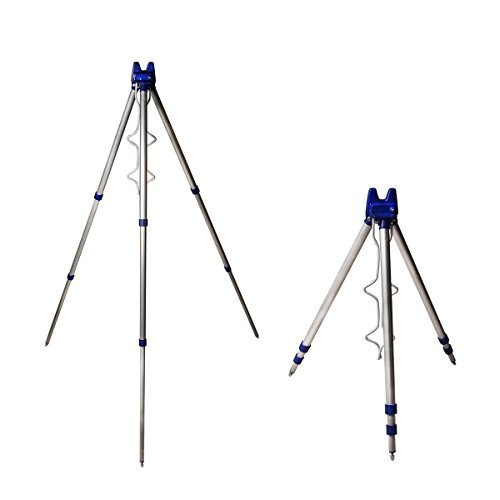 discountseller Angeln Stativ Ständer Rest für Sea Beach Shore Pier Tackle Teleskop [UK Verkäufer] -