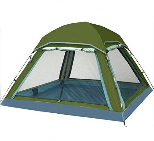 Preisvergleich Produktbild Jingzou Zelt 3-4 Outdoor Zelt Doppel Multiplayer Wasser UV Camping Zelt Camping Zelt Baldachin 210*210*135cm