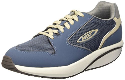 MBT 1997, chaussures basses Homme Multicolore (China Blue/Cement)