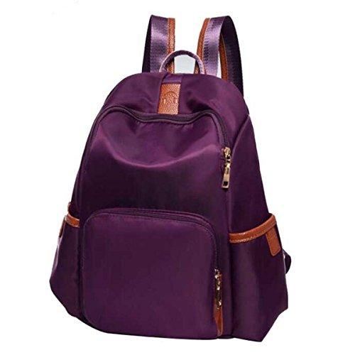 Donne Moda Borsa A Tracolla Tempo Libero Borsa Da Viaggio Purple