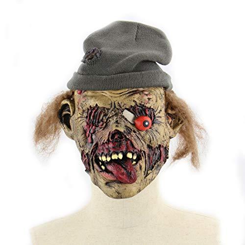 DUBAOBAO Zombie Maintenance Friedhof Scary Goblin Halloween Bar Heimgesuchte Haus Requisiten, Halloween-Masken, Halloween Körperteile Requisiten