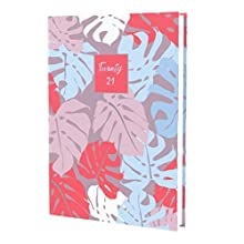 Collins Enchanted A5 Day to Page (Appointments) 2020-2021 Diary - Purple