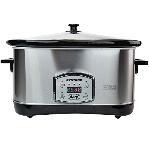 Syntrox Germany 7,5 l Slow Chef SC-750D Schongarer - 2
