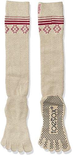 Toesox Scrunch Mujer Full Toe Grip calcetines para Yoga, Ballet, Barre, y Pilates, Ritual