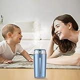 FAFC Humidificateur,Purificateur d'air,Bleu, Convient aux Chambres à Coucher, Voitures, salles de bébé, etc.