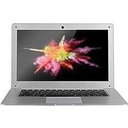"JUMPER EZbook 2 - Laptop Portátil (14.1"" FHD Pantalla, 1920*1080 Resolución, Windows 10, Batería 10000mAh, 4GB RAM, 64GB ROM, Cámara Frontal, BT 4.0)"