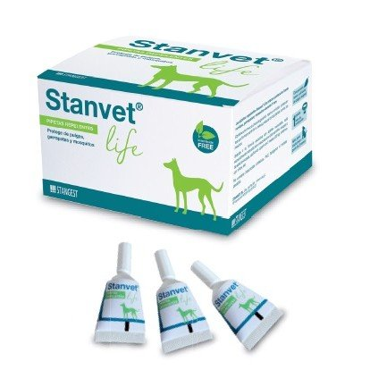 Stanvet Life pipetas para perro 12 unidades.