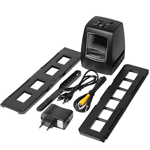 "Escáner fotográfico Digital de Alta resolución, resolución Alta, resolución de Fotos Escáner fotográfico de 35 mm / 135 mm Convertidor de película Digital USB Pantalla LCD de 36"""