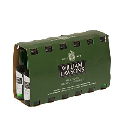 William Lawsons Blended Scotch Whisky 5cl Miniature - 12 Pack by William Lawson